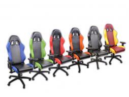 FK Gaming Stuhl Bürostuhl eGame Seat eSports Spielsitz Liverpool [verschiedene Farben]