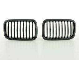 Sportgrill Frontgrill Grill BMW 3er Typ E36 Bj. 91-95 Carbon Look