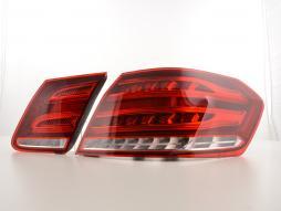 Set faruri LED Mercedes Benz Clasa E Limo W212 Bj. Din 2013 roșu / clar