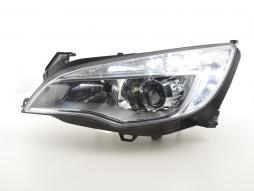 Faruri de zi utilizate cu lumini de zi Opel Astra J Bj. 2009-2012 crom