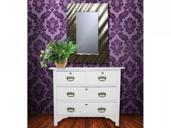 Design Spiegel modern-3, silber