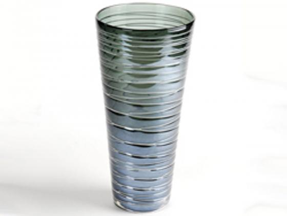 Design Vase Stripe 5, blau