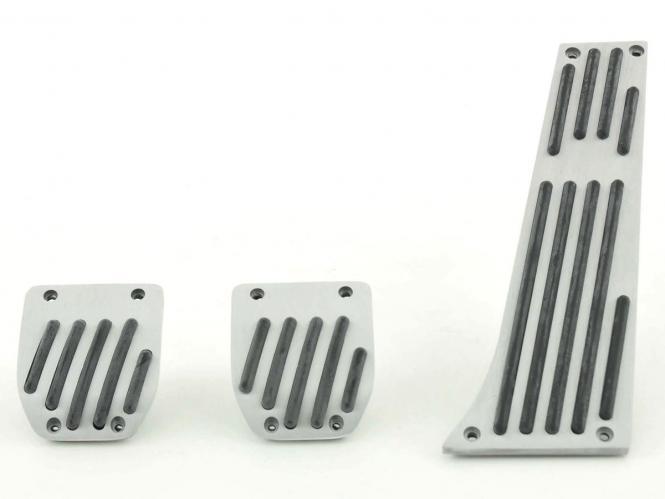 FK Alupedale Pedale Set 3-teilig BMW 5er Pedalcover Autopedale Streifen-Design