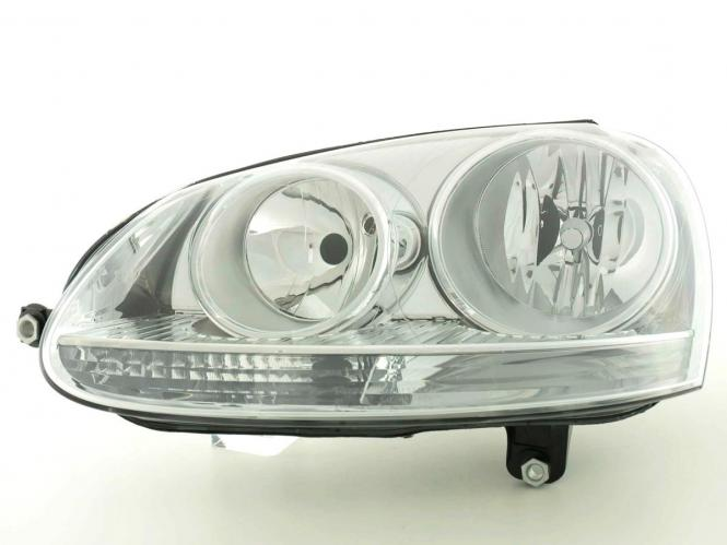 Verschleißteile Scheinwerfer links VW Golf 5 (Typ 1K) Bj. 03-08 / Jetta (Typ 1KM) Bj. 05-