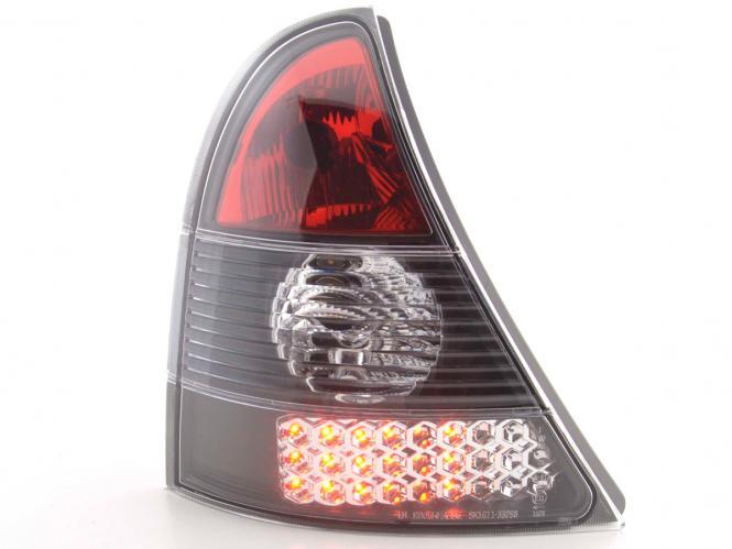 LED Rückleuchten Set Renault Clio Typ B Bj. 01-04 schwarz
