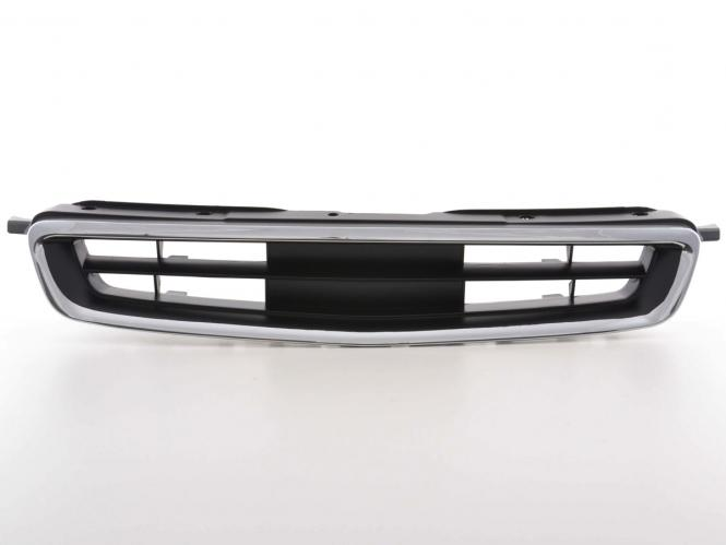 Sportgrill Frontgrill Grill Honda Civic 3-/4-trg. Bj. 95-96 schwarz/chrom