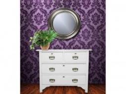 Design Spiegel Antik-1, silber
