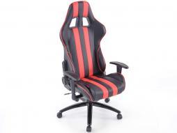 FK scaun sport birou pivotant Toronto negru / roșu scaun executiv scaun pivotant scaun birou