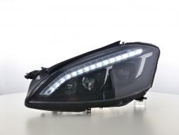 Far cu lumina zilei LED DRL aspect Mercedes-Benz S-Class (221) An 05-09 negru