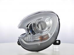 Scheinwerfer Set Xenon Daylight LED TFL-Optik Mini Countryman R60 Bj. 10-17 chrom