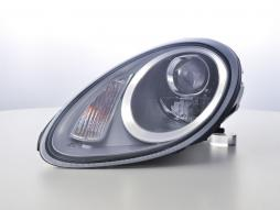 Scheinwerfer Set Xenon Daylight LED TFL-Optik Porsche Boxster (987) Bj. 04-08 silber