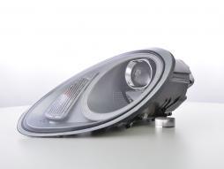 Scheinwerfer Set Xenon Daylight LED TFL-Optik Porsche Boxster Typ 987 Bj. 04-09 silber
