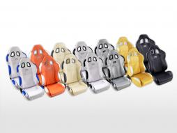 FK Sportsitze Auto Halbschalensitze Set New York in Motorsport-Optik [verschiedene Farben]