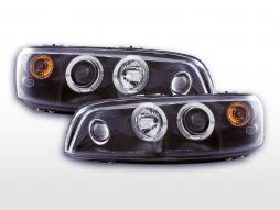 Set faruri Fiat Punto 2 tip 188 Yr. 99-02 negru