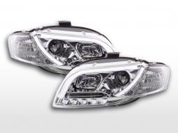 Far cu lumina zilei LED lumini de zi diurn Audi A4 tip 8E 04-08 crom