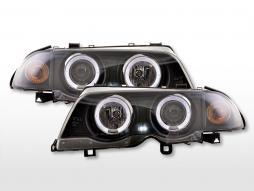 Far ochi înger BMW 3er E46 Limo / Touring An 98-01 negru