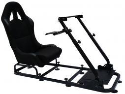 FK Gamesitz Spielsitz Rennsimulator eGaming Seats Monaco schwarz schwarz