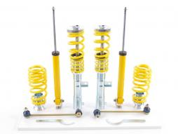 Set FK coilover sport suspensie VW Touran GP Bj. 2006-2010 cu tija de 55mm