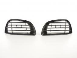 Plăcuțe grilă pentru bara de protecție monocadr VW Golf 4 Bj. 97-06