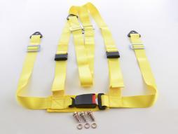 harnais 3-Punkt ceinture universal jaune