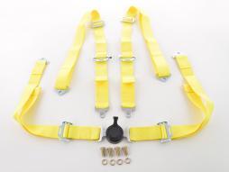 harnais 4-Punkt ceinture universal jaune