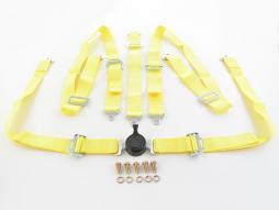 harnais 5-Punkt ceinture universal jaune