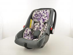 Scaun auto pentru copii Scaun auto scaun auto negru / alb / violet grup 0+, 0-13 kg