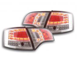 Set stopuri LED Audi A4 Avant tip 8E An 04-08 crom
