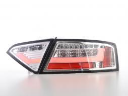 LED Rückleuchten Set Lightbar Audi A5 8T Coupe/Sportback  07-11 chrom