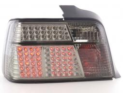 Set lumină spate LED folosit BMW 3er Limo tip E36 Bj. 91-98 negru / roșu