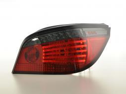 Stopuri LED Lightbar BMW 5er E60 Limo An 07-09 roșu / fum