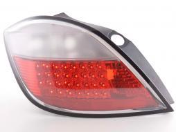 LED Rückleuchten Set Opel Astra H 5-trg  04- rot/klar
