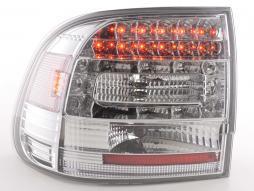 LED Rückleuchten Set Porsche Cayenne Typ 955 Bj. 02-06 chrom