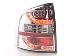 LED Rückleuchten Set Skoda Octavia Combi Typ 1Z Bj. 05-12 chrom