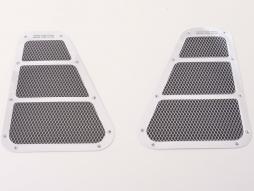 Set de autocolante de admisie a aerului 2x aprox.180 x 130 mm universal