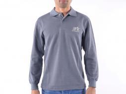 Polo, tricou, top modern, design clasic, gri mărime L