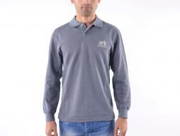 Polo, tricou, top modern, design clasic, gri mărime S