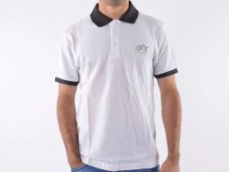 Poloshirt, polo, cămașă, top modern, design clasic, alb mărimea S