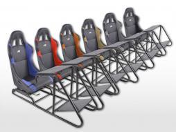 FK scaun de joc scaun de joc simulator de curse eGaming Scaune piele sintetică Estoril [diferite culori]