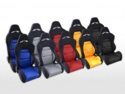 FK Sportsitze Auto Halbschalensitze Set Edition 3 Stoff [verschiedene Farben]