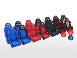 FK Sportsitze Auto Halbschalensitze Set Super-Sport Stoff [verschiedene Farben]