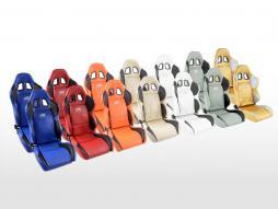 FK Sportsitze Auto Halbschalensitze Set Houston in Motorsport-Optik [verschiedene Farben]