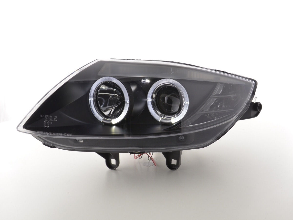 Bremsscheibe De Scheinwerfer Angel Eyes Bmw Z4 Typ E85 E86 Bj 03 08 Schwarz Online Kaufen