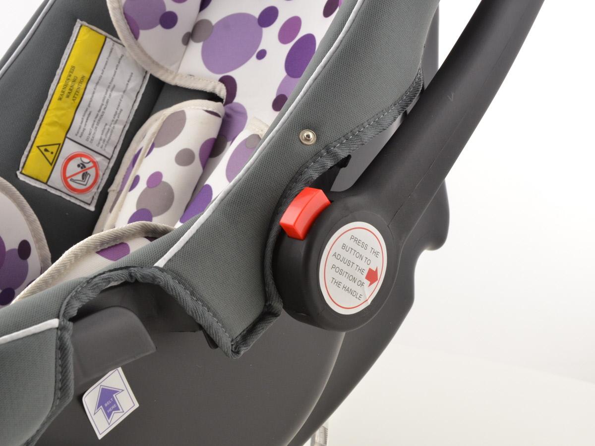Kinderautositz Babyschale Autositz schwarz//weiß//blau Gruppe 0+ 0-13 kg